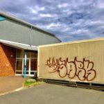 Graffiti Vandalismus in Molbergen