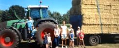 Ferienpassaktion 2018 der SPD Molbergen auf dem Bauernhof