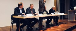 Podiumsdiskussion in Stapelfeld mit Theo Bruns